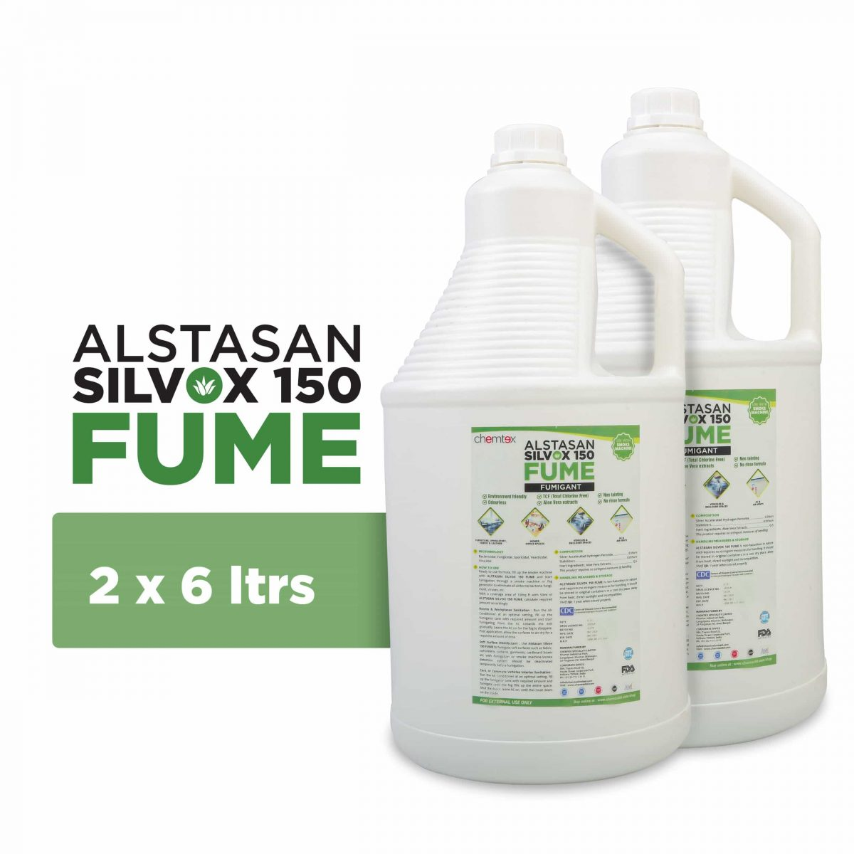 Air Disinfectant Liquid for Disinfecting Indoor Spaces - Chemtex
