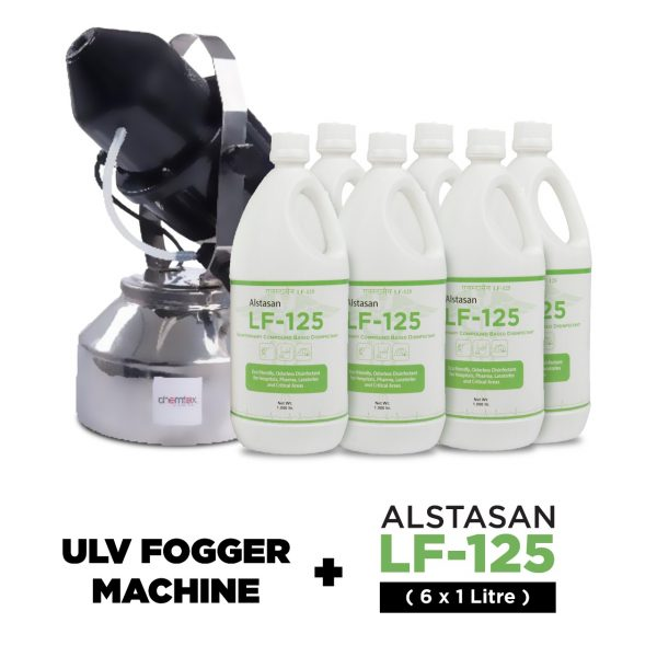 Aerial Disinfectant Solution with ULV Fogger Machine - Chemtex